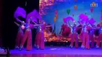 黄骅市桃李园舞蹈队在【迎新春社区建设文艺联欢会】上表演舞蹈中国美