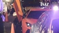 警察把Chris Brown的兰博基尼搜了个底朝天