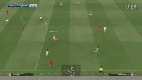 PES2015 大师联赛 拜仁打英超 03 联赛2场 守门员的AI起伏太大了,不灵便傻
