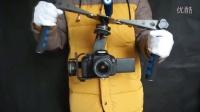 摄像增稳云台暴力摇晃测试 GH4 5D 微单 单反通用录像增稳云台 电子版斯坦尼康