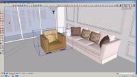 sketchup草图大师室内设计建模渲染出图全流程(二)