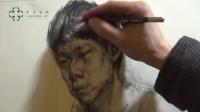 杭州画室——线性素描独家示范教学,揭秘国美考试趋向