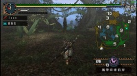【乐游】怪物猎人p2g娱乐实况解说第三期-蓝速龙王(村下位)