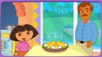 ❤爱探险的朵拉☂朵拉宝贝学厨艺