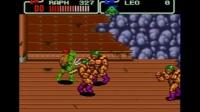 MD版 忍者神龟 第二关 懂的走位的忍者兵