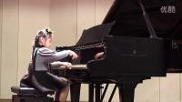 琴童上台表演音乐会 季沁姚瑶 钢琴曲《莫扎特C大调奏鸣曲》20150228