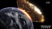 【AIsonny】大型小行星撞击地球的壮观场面