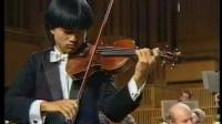 胡坤与梅纽因勋爵及柏林广播乐团演奏西贝柳斯协奏曲(1987.10)第一b,二,三乐章。
