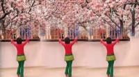 金社世纪小钱车行广场舞学跳爱吾老师作品(爱情在草原)个人版
