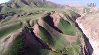 以色列犹大沙漠,壮丽绿色沙丘 - 无人机空拍