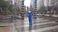 雪冰青春活力广场舞 (原创) 《天下醉美花舞人间》 正背面演示_标清