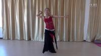 部落肚皮舞教程:蛇形手臂方位手组合 段晶