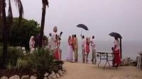 天空不作美,闪电破坏结婚现场 - 搞笑视频