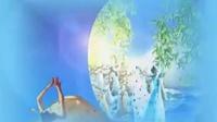 溪流学吹--月光下的凤尾竹