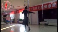 刘宁老师柔美现代钢管舞-没资格说爱我