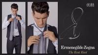 男士时尚课堂如何打领带-肯特结(Kent Knot)