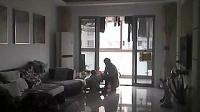 绍兴嵊州保姆虐待9个月大女婴_标清