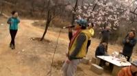 食尚运动户外群 春游休闲杏繁岭观赏杏花