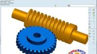 proe蜗轮蜗杆传动机构模拟方法视频教程