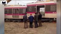 北京地铁冲上公路!亦庄线一列车调试过程中冲上公路