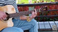 【UGC新人奖第四季】指弹吉他原创<<月光>>加拿大华裔:陈肖珲吉他独奏朱丽叶全单吉他弹唱
