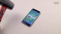 Samsung Galaxy S6 Edge 钥匙刮、锤子砸 测试
