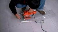 810土工膜焊接机操作演示