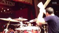 鼓手Adam Gray plays Composure with ABR LIVE @ The TLA
