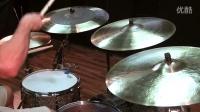 鼓手Troy Wright 对比几款镲片。Sabian Ride Cymbal