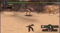【乐游】怪物猎人p2g片手剑大怪鸟(个人斗技训练)