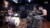 鼓手Troy Wright和鼓手Mike Malyan演奏Zomboy - Hoedown