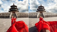 北京婚纱摄影80后婚纱照【V视觉】工作室