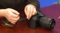 尼康 D800 数码单反操作教程——相机背带系法(跟我学摄影)