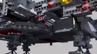 乐高情报站 lego millennium falcon 10179 3d stop motion assembly