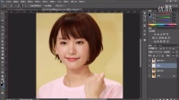 【邢帅教育王明越】 PS实例教程 可爱的Q版人物头像绘制