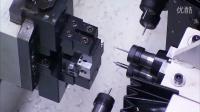 电磁阀阀体4工位6轴NC钻孔攻牙机, 凯泓机械