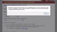 Transfer Preference Application - UMass Amherst