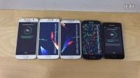 三星 Galaxy S6 vs. S5 vs. S4 vs. S3 vs. S2 - 跑分速度测试