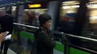 上海地铁2号线AC-08(青鱼)(福特广告车)东昌路(往徐泾东方向)进站