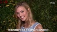 乌玛-瑟曼出席2015翠贝卡电影节Chanel艺术晚宴卡莉-克劳斯蓝色粗呢裙优雅亮相