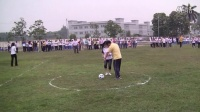 教师趣味体育活动之活动中