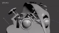 3d test animatronic design