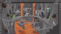 我们是如何制作动画的-速写系列-在桥上