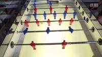 【人机大战桌式足球】机器智慧不服来战 汉诺威工业展