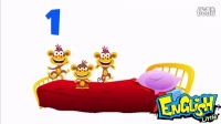 (英文数字歌)五只小猴子在床上跳Five Little Monkeys - English Little (SuperSimpleLearning)