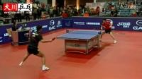 【大川教学】第15期 张继科乒乓球反手连续拉技术 惊人的旋转和威力!