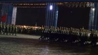解放军亮相俄罗斯胜利日阅兵红场彩排--视频第5分钟三军仪仗队出场