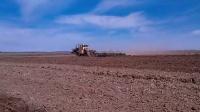 【天火农机】俄罗斯K701拖拉机耙地