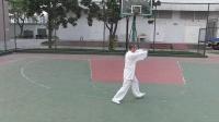 2014年襄韵太极俱乐部邓俊杰老师演练杨式太极85式