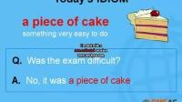 <游学PC>a piece of cake-英语学习视频-菲律宾游学